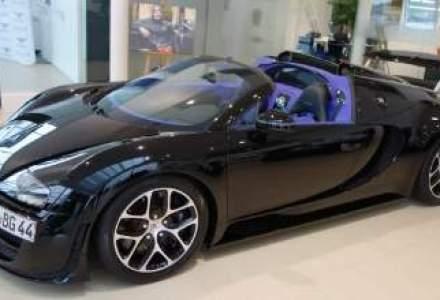 Bugatti incearca piata din Romania. Doua modele au fost expuse la Bucuresti