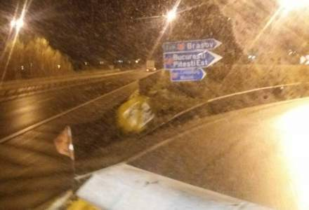 Câte utilaje de deszăpezire au acționat pe drumurile din România