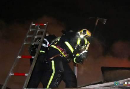 Incendiu la două case din județul Ilfov