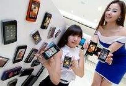 LG a vandut 20 mil. de telefoane mobile cu ecran tactil