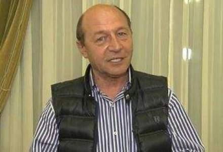 Traian Basescu: S-au oprit lucrari si nu se gaseste contractul Bechtel, se ascunde bine contractul