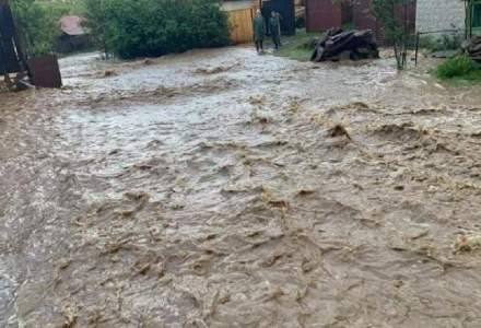 Institutul Național de Hidrologie a emis o atenționare cod portocaliu de inundații