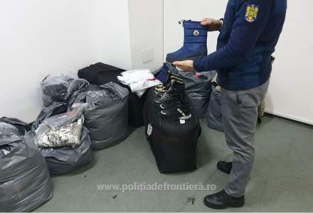 Peste 5.000 de bunuri contrafăcute au fost confiscate la P.T.F. Giurgiu, în ultimele 48 de ore