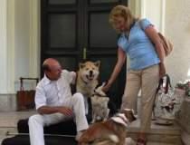 Traian Basescu petrece...