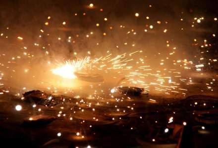Peste 7.300 de kilograme de petarde, baterii de artificii şi rachete au fost confiscate de polițiști