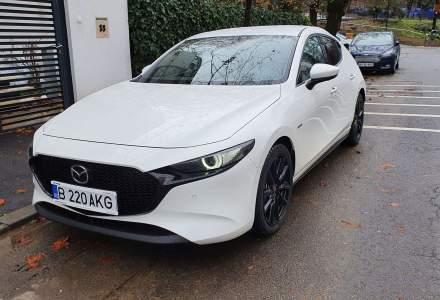 Test drive cu Mazda3 Edition 100 - design special