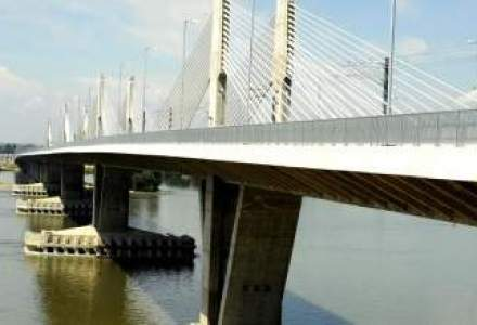 Podul Calafat-Vidin va fi deschis sambata circulatiei feroviare