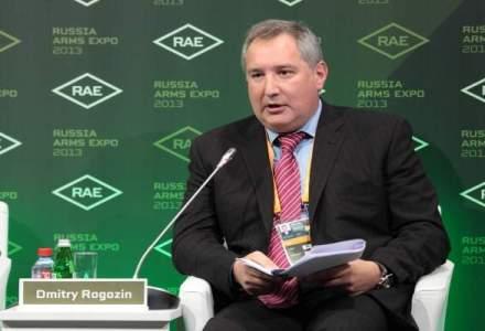 Dmitri Rogozin: Ma intreb cate pahare a baut Basescu inainte de a inchide spatiul aerian pentru avionul nostru