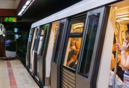 Trenurile de metrou vor circula la interval de 9 minute, de Crăciun