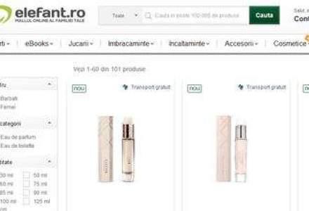 Elefant.ro incepe sa vanda parfumuri online