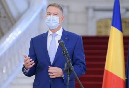 Klaus Iohannis: Pachetul de sprijin pentru Republica Moldova include vaccinuri anti-COVID