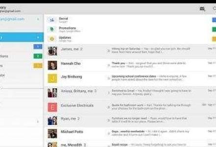 Aplicatia Gmail pentru Android a fost instalata de peste un miliard de ori