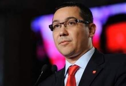 Ponta cere ministrilor masuri de relaxare fiscala si incurajare a investitiilor