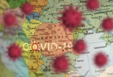 COVID-19: Județele cu cele mai puține cazuri în ultimele 24 de ore