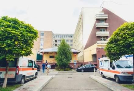 Incendiu într-o secție a Spitalului Municipal de Urgență din Roman