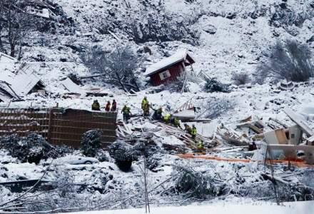 Alunecare de teren în Novegia: a fost găsită o persoană decedată