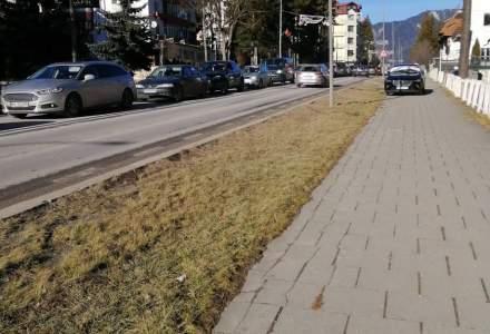 Aglomerație pe DN1: coloane de mașini în stațiunile montane