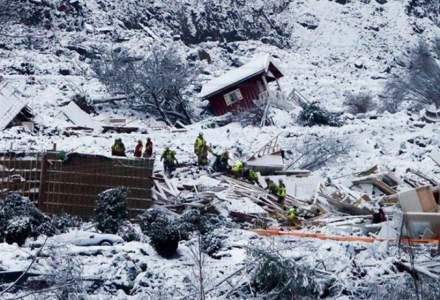 Bilanț nou al alunecării de teren din Norvegia: patru decedați și șase dispăruți