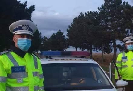 Amenzi de peste 2,5 milioane de lei date de polițiști în ultima zi a minivacanței de Revelion