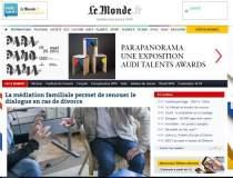 Cotidianul Le Monde lanseaza...