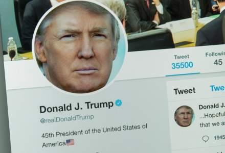 Twitter a blocat toate interacțiunile pe contul lui Donald Trump