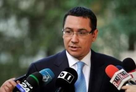 Victor Ponta la Portile de Fier: Situatia pe Dunare este sub control, nu e nimic care sa ne ingrijoreze