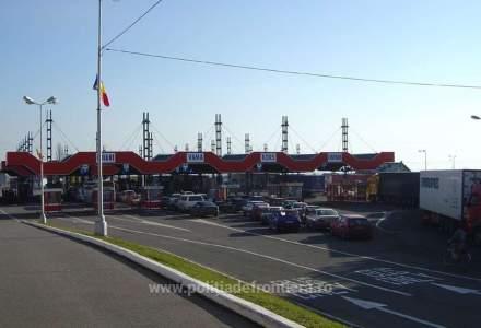 Aglomerație la granița de vest a României: a fost suplimentat numărul polițiștilor