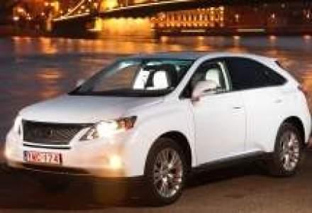 Lexus lanseaza in Romania noul SUV hibrid RX450h