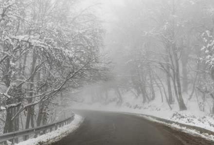 Alertă ANM: Informare meteo de ninsori până miercuri