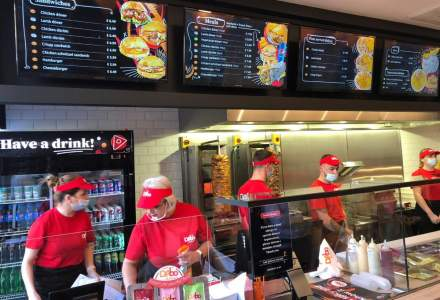 DAbo Doner deschide primul restaurant românesc de fast-food din Londra