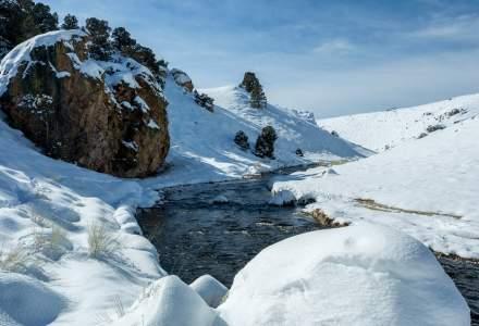 Record istoric de frig în județul Sibiu