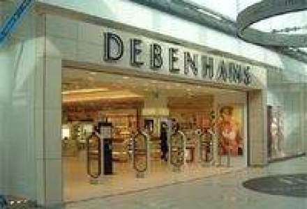 RTC Holding a investit 1 mil. euro in deschiderea unui nou magazin Debenhams