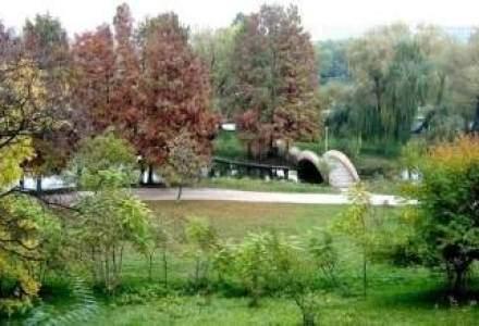 Primaria Oradea a dat 0.5 mil. euro pe un parc public, cu lac artificial si plante exotice