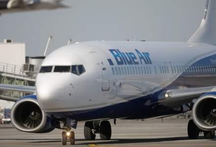 Reduceri MARI la zborurile Blue Air: două bilete la preț de unul