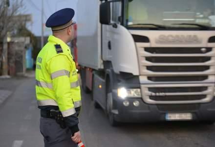 Aglomerație în vama Nădlac: cozi de camioane de până la 5 kilometri