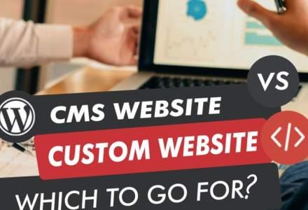 CMS, Site Builder sau Soluție Personalizată? Ce să alegem în 2021