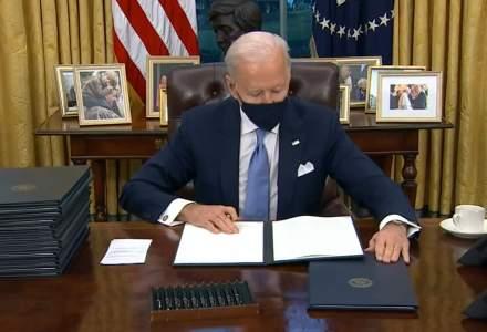 Joe Biden a semnat 17 decrete în prima zi ca președinte. Primele decizii luate de Biden