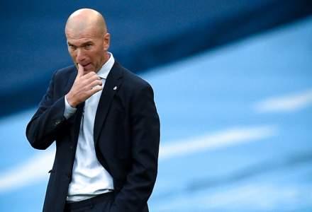 Zinedine Zidane, testat pozitiv cu COVID-19