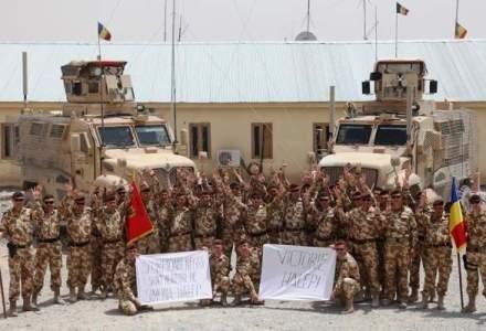 """Scorpionii Negri"" o sustin pe Simona, din Afghanistan: ""Victorie, Halep!"""