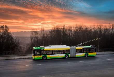 Brașovul va avea încă 25 de troleibuze noi până la finalul anului