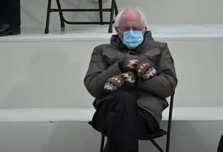 Bernie Sanders vrea să vândă hanorace cu imaginea sa celebră de la inaugurarea lui Biden