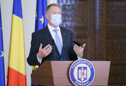 Klaus Iohannis: Moştenirea lăsată de arhitecţii Unirii din 1859 e temelia solidă pe care să continuăm modernizarea României