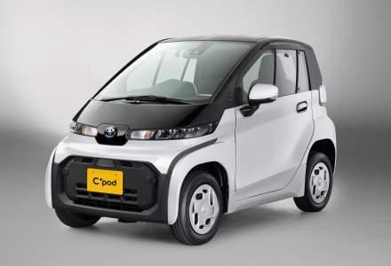 Aceasta este cea mai mică mașină electrică produsă de Toyota. Are 2,5 metri lungime