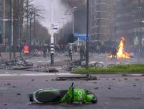 Olanda, scena unor proteste...