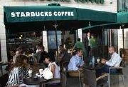 Starbucks deschide a saptea cafenea din Romania