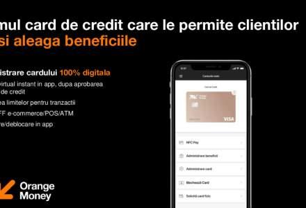 """Orange Money lansează un card de credit ce oferă 3% cashback la orice plată în Orange și extra opțiuni de """"bani înapoi"""" la supermarket sau în străinătate [VIDEO]"""