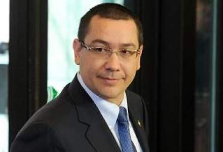 Ponta vrea sa urgenteze promulgarea Codului Insolventei: Le scriu azi lui Basescu si Zegrean