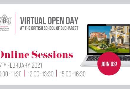 (P) British School of Bucharest organizează Virtual Open Day, un eveniment dedicat părinților și elevilor interesați să urmeze o școală internațională de top