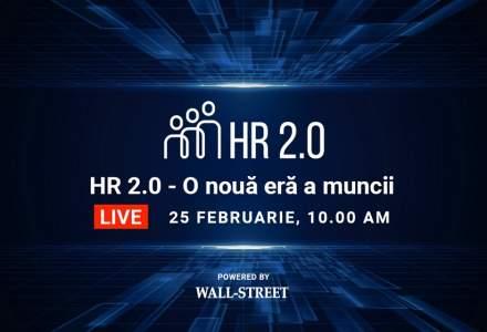 La masa virtuală cu profesioniștii din HR, la cea de-a 10-a ediție a conferinței HR 2.0, organizată de Wall-Street.ro