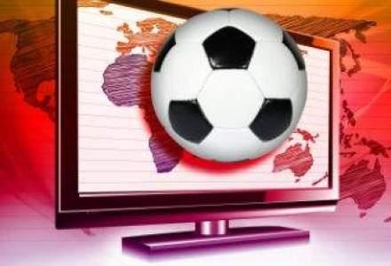 Doar 11% dintre romanii care urmaresc meciuri de fotbal la televizor sunt femei